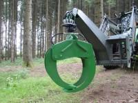 Holzzange Holzgreifer Frontlader